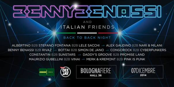 Benny Benassi and Italian Friends